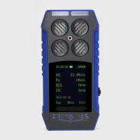 Мультигазовий детектор WALCOM MGD-04 (O2, CH4, H2S, CO2)