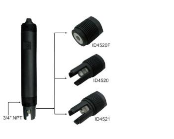 Комбінований рН-електрод EZODO ID 4520 для водних розчинів - 1457522972 - Фото - 1