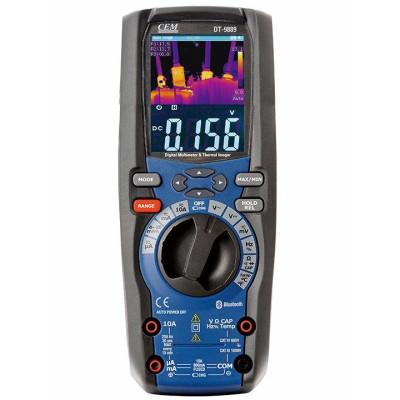 Мультиметр із вбудованим тепловізором CEM DT-9889