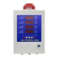 Панель контролю газових датчиків (4 канали) WALCOM GCP-4