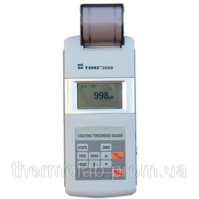 Толщиномер покрытий со встроенным принтером Time2600