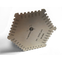 Гребенка для измерения толщины мокрого слоя ЛКП