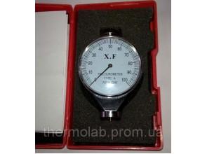 Дюрометр твердомер Шора A с одной стрелкой ASTM 2240-A шкала 0-100 НА