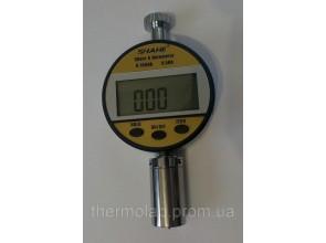 Цифровой твердомер дюрометр Шора А модель 5612А шкала HA 0-100