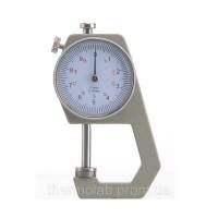 Карманный механически толщиномер TOL-1 01 мм0-20 мм для бумаги картона железа ткани