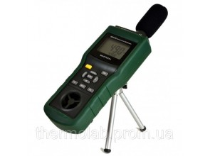Mastech MS6300 5 в 1 шумомер анемометр термометр люксметр и гигрометр