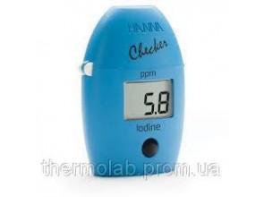 Фотоколориметр HI718 Checker НANNA для определения йода 0-125 мглГермания