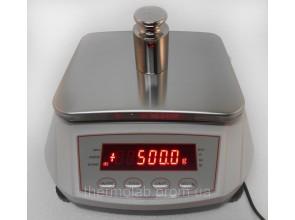 Весы лабораторные 500001 г